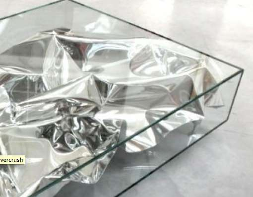 Fredrikson Stallard Silver Crush Table