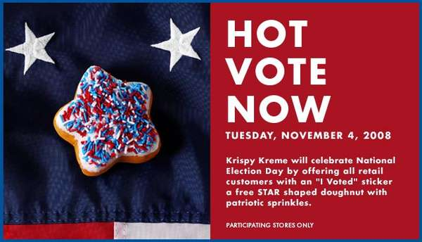 Free Donuts to Entice Voters