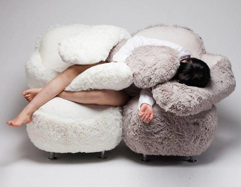 Hug-Giving Sofas