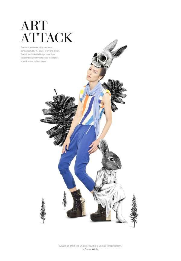 Classic Illustration Fashion Editorials