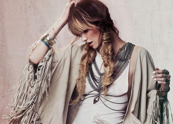Festive Fringe Fashion Lookbooks