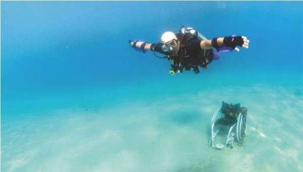 Paraplegic Scuba Suits