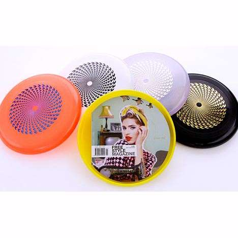 Frisbee-Shaped Magazines