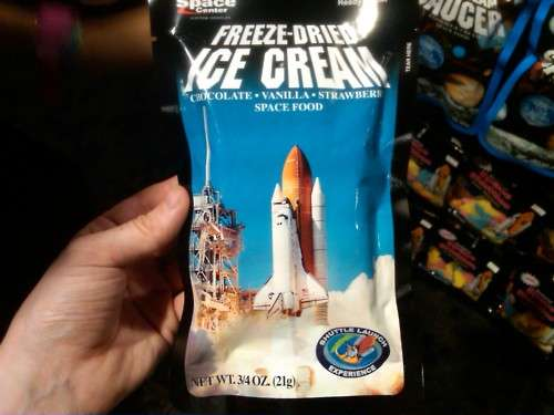 Freeze-Dried Ice Cream