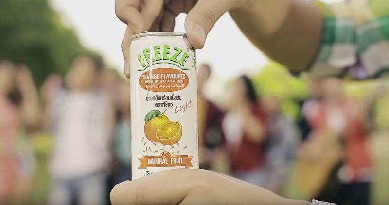 Frozen Juice Cans