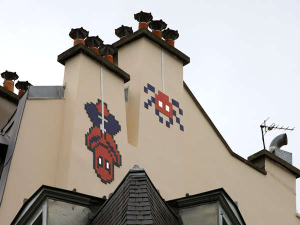 French Artist Invader