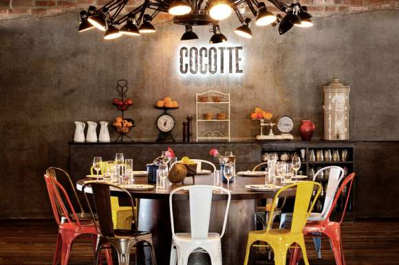 Rustic Industrial Restaurants