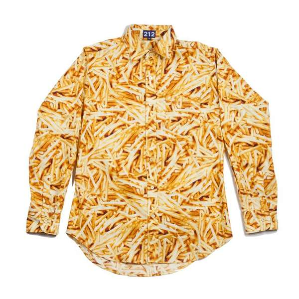 Fancy Fast Food Button-Ups