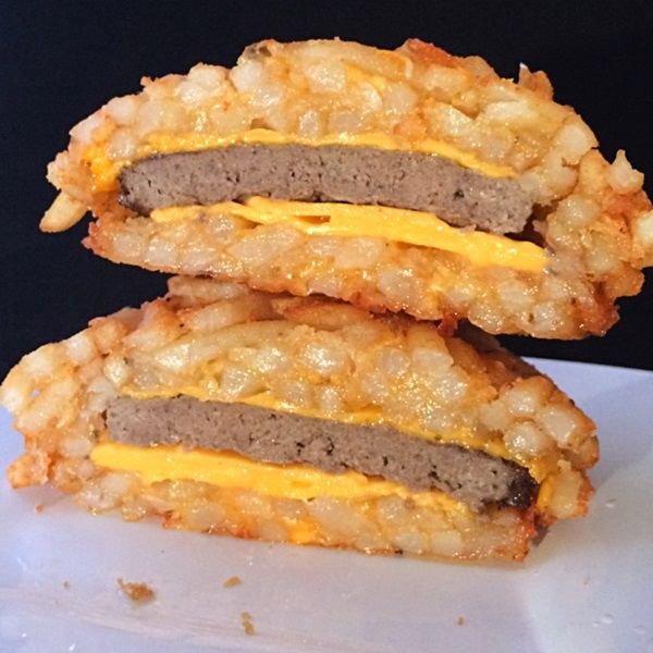 French Fry Burger Buns