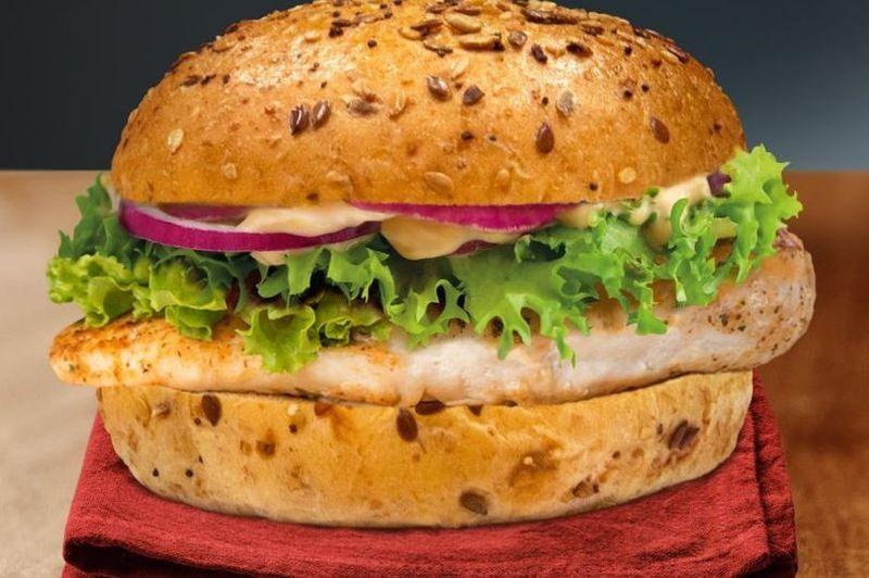 Wholemeal Fresh Chicken Sandwiches