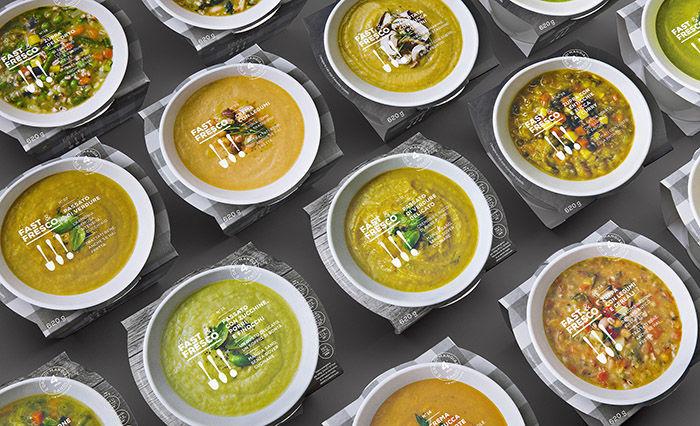 Visual Vegetable Soup Packaging
