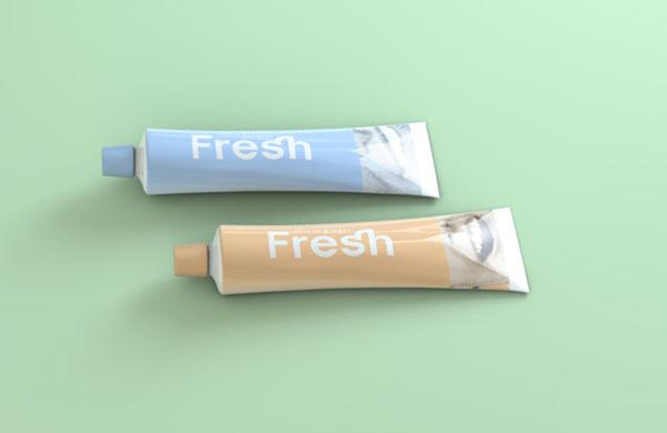 Vintage Toothpaste Packaging