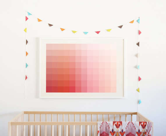 Chromatic Children-Supporting Prints