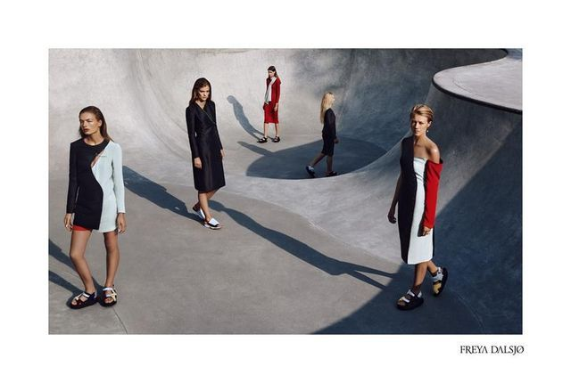 Barren Skatepark Fashion Campaigns