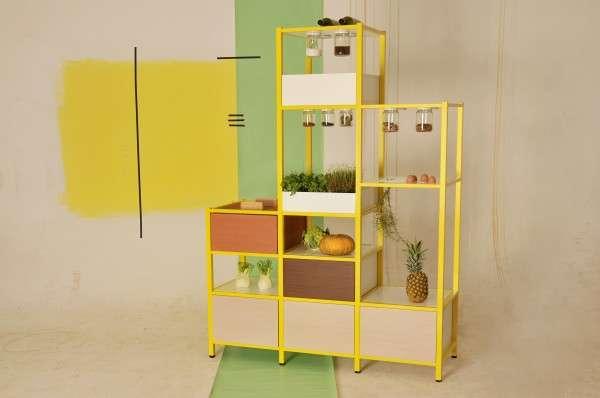 Stylish Kitchen Storage