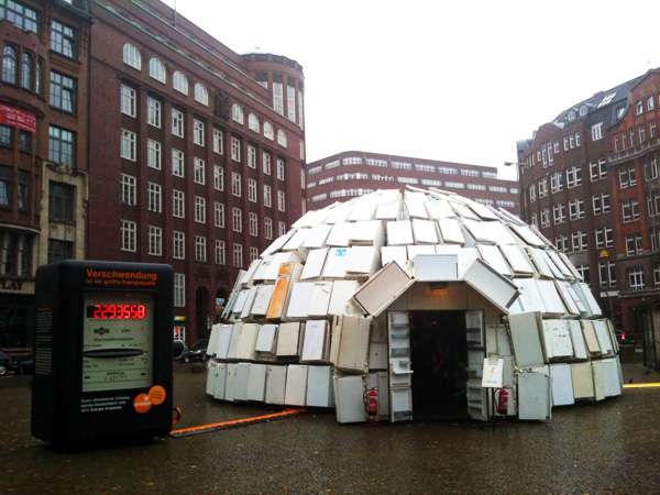 Recycled Igloos