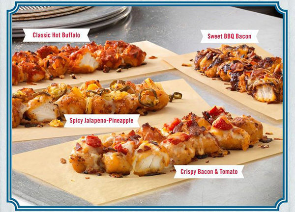 Fried Chicken Pizza Crusts
