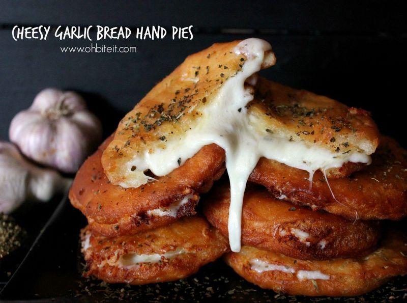 Cheesy Bread Pies