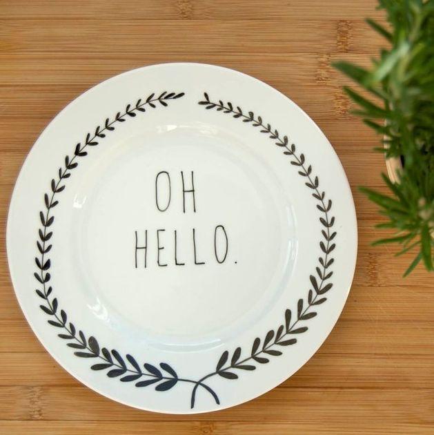 Friendly Dinner Plates