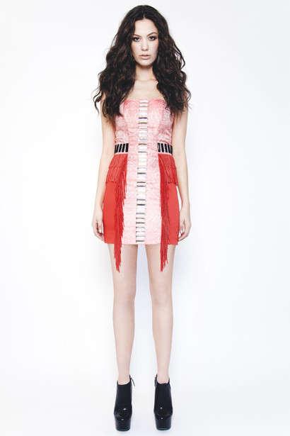 Fringe-Tipped Fashion