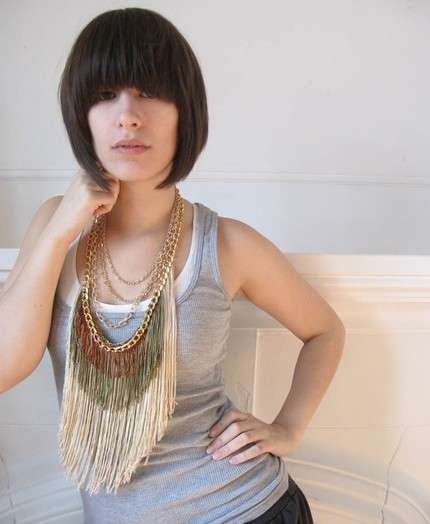 Fringed Necklaces
