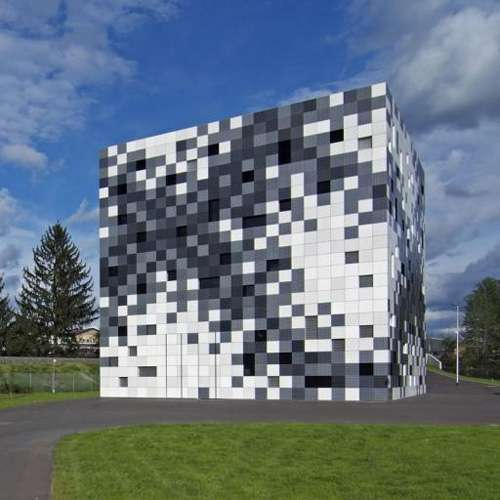 Epic Pixelated Buildings