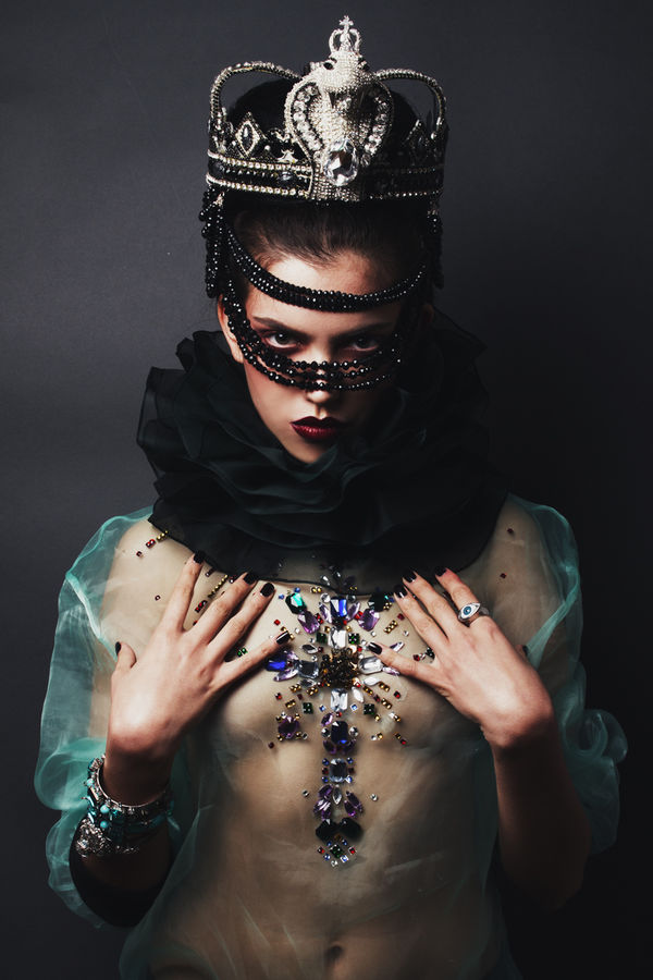 Darkly Regal Photoshoots