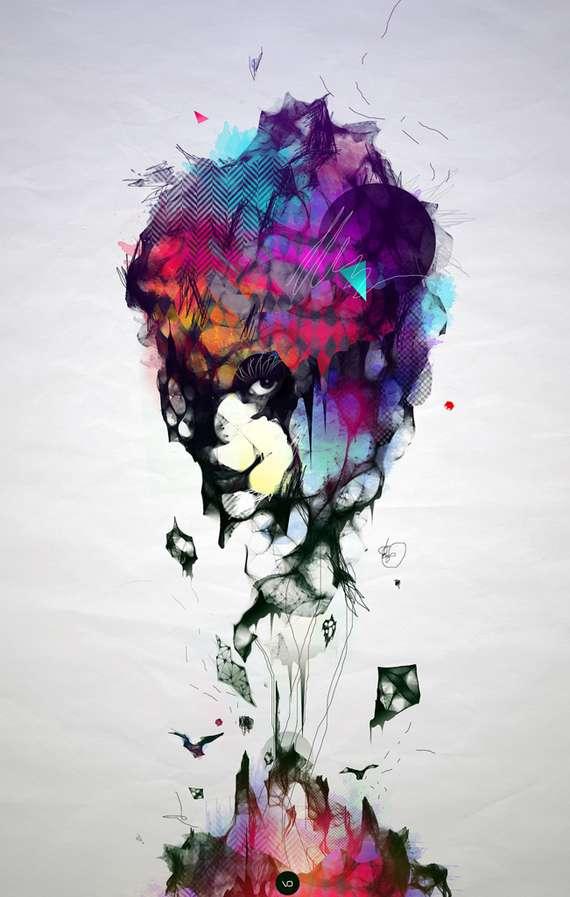 Abrasive Abstract Art