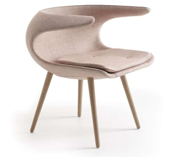 Simple Slouching Seats Frost Chair