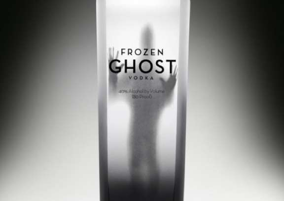 Frozen Ghost Vodka Packaging