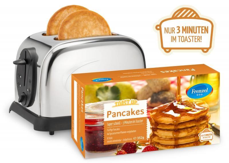 Frozen Toaster Pancakes
