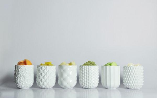 Chic Food-Inspired Mugs