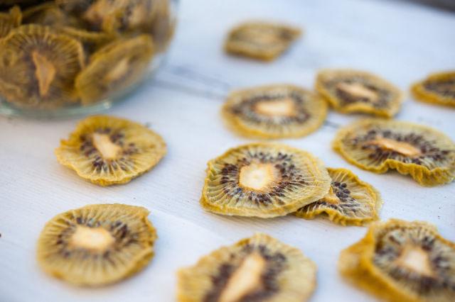Chewy Kiwi Chips
