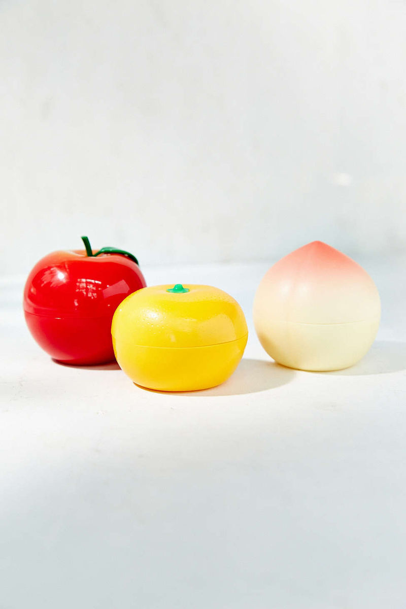 Fruit-Shaped Hand Cream Dispensers