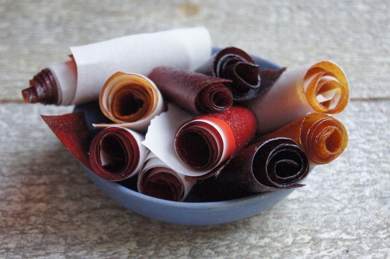 DIY Fruit Roll Snacks