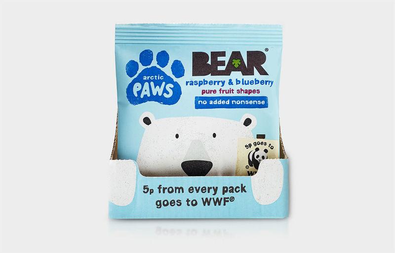 Peeking Snack Packaging