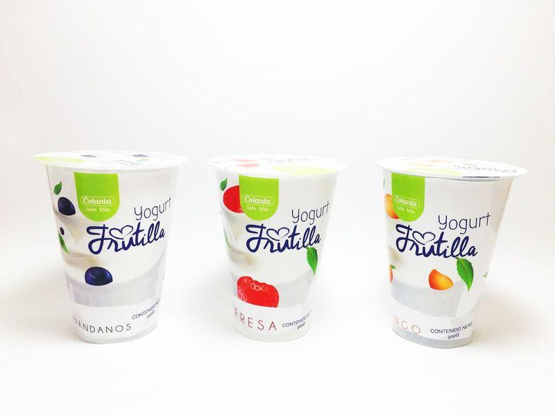 Health-Focused Fruit Yogurts