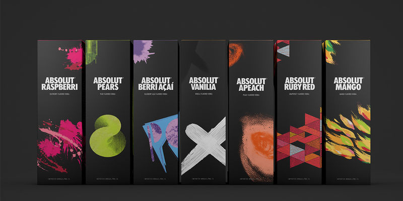 Abstract Vodka Packaging