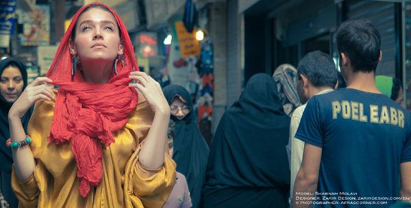 Vibrant Iranian Editorials