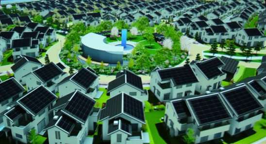 Solar-Powered Cities