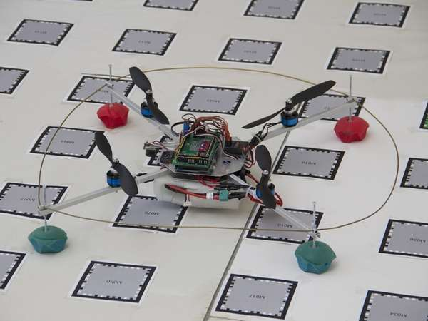 Fully Autonomous Quadcopters