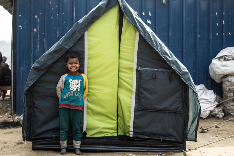 Reversible Homeless Shelters