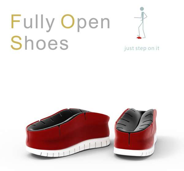 Fully Open Shoe