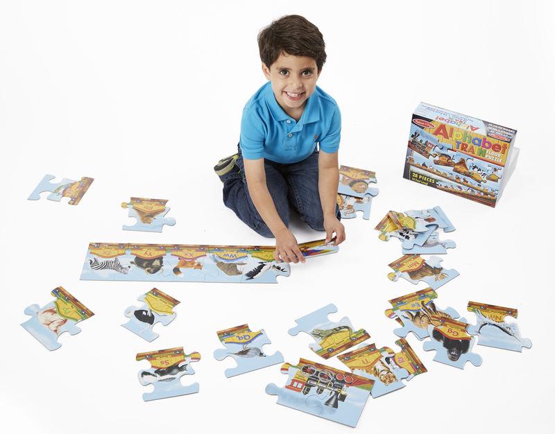 Locomotive-Inspired Alphabet Games
