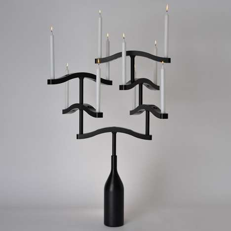 Stackable Candelabras