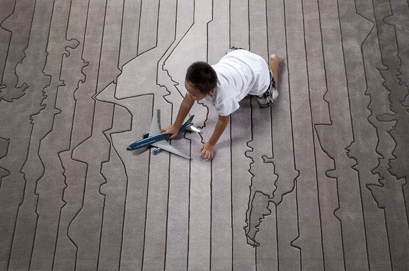 Time Zone-Themed Rugs
