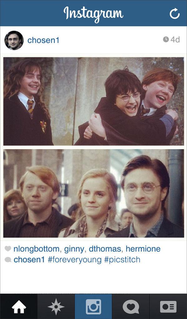 Aged Wizard Instagram Spoofs