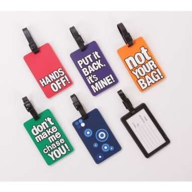 Cheeky Luggage Tags