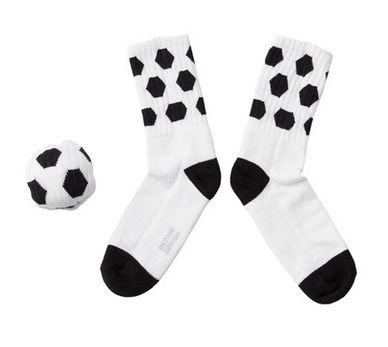 Sports Ball-Themed Socks