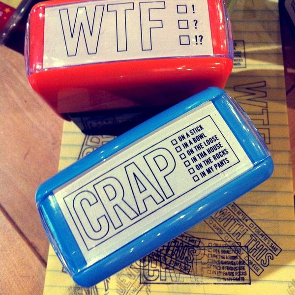 Insulting Self Inking Stamps Funny Stamps